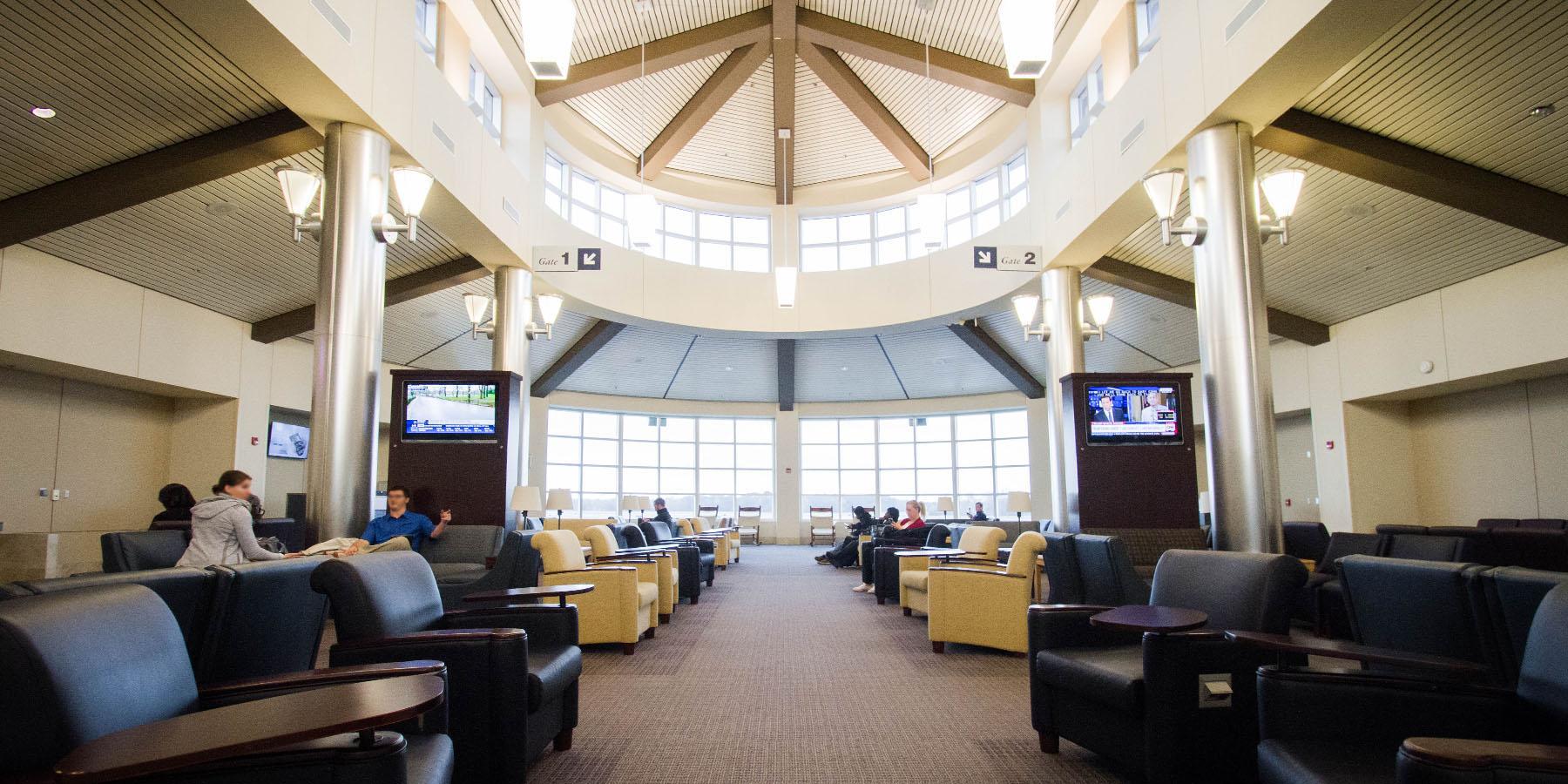 Pitt Greenville Airport second floor mezzanine