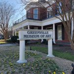 Greenville Museum of Art exterior and sign